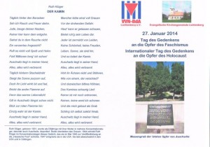 Programm 27.01.2014
