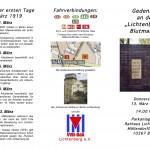 Flyer Gedenken an der Lichtenberger Blutmauer 13.03.15